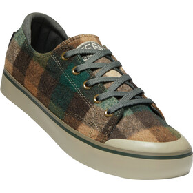 Keen Elsa III Tennarit Naiset, brown plaid/climbing ivy